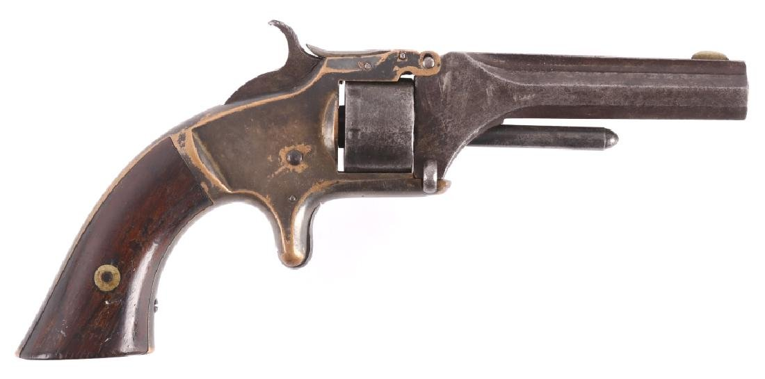 Smith & Wesson No. 1 Presentation Silver Revolver