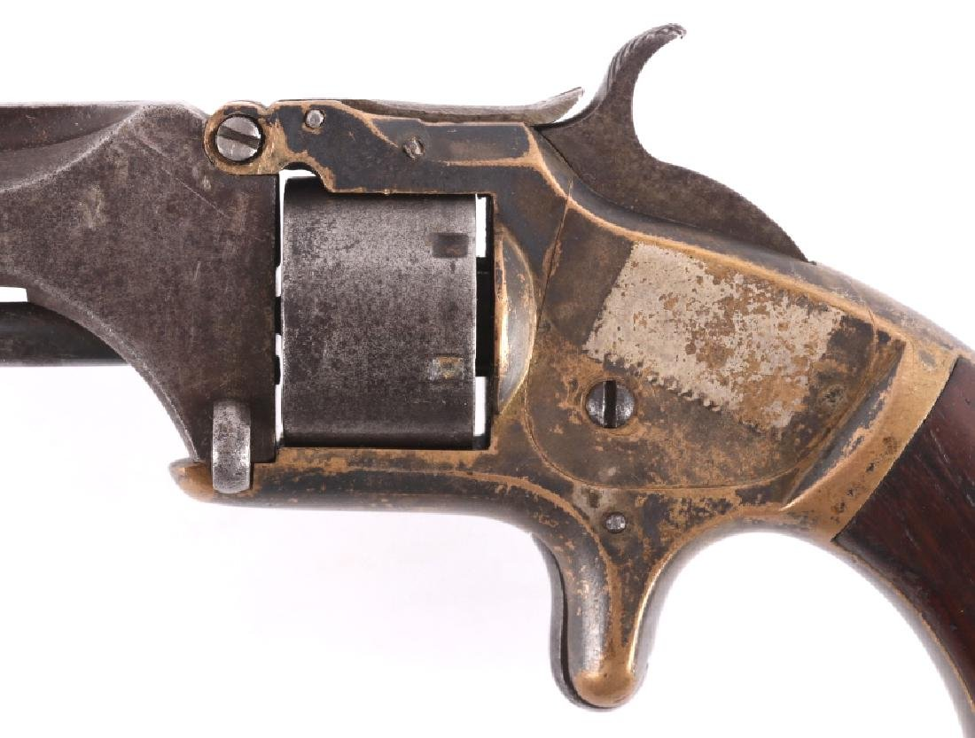 Smith & Wesson No. 1 Presentation Silver Revolver - 7