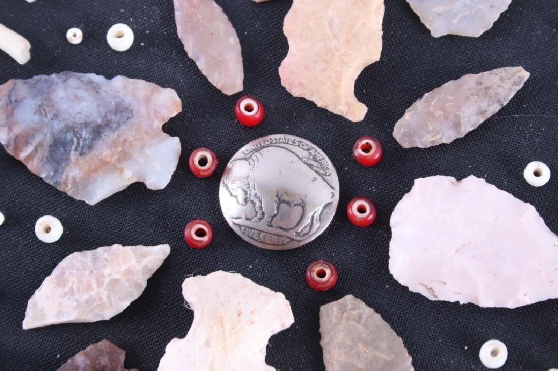 Native American Arrowhead Artifact Collection - 4