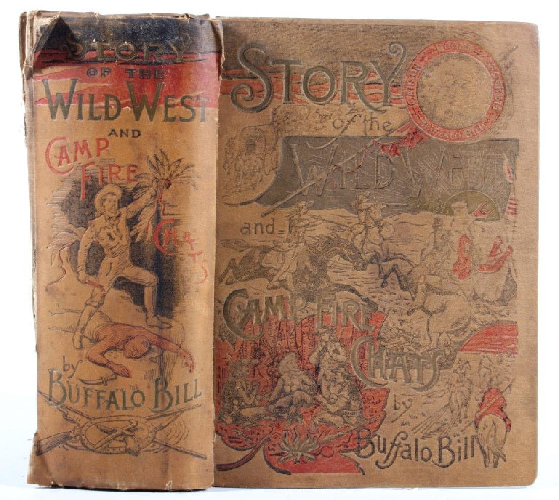 Story of the Wild West by Buffalo Bill 1st Edition - 2