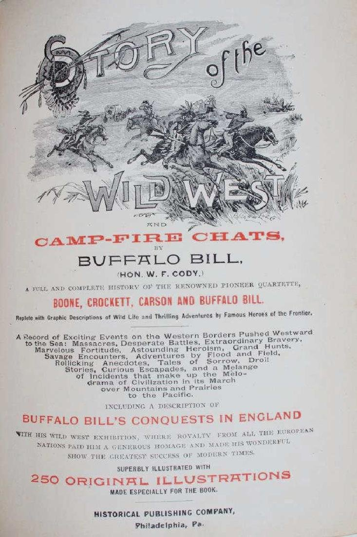 Story of the Wild West by Buffalo Bill 1st Edition - 4
