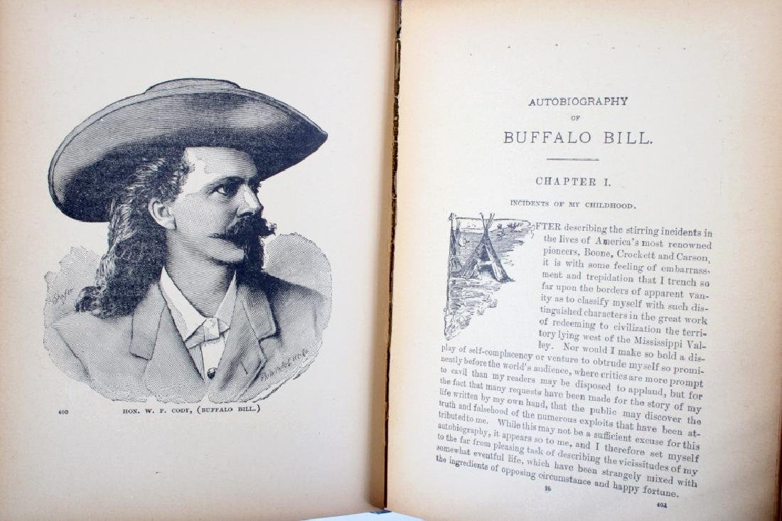 Story of the Wild West by Buffalo Bill 1st Edition - 7