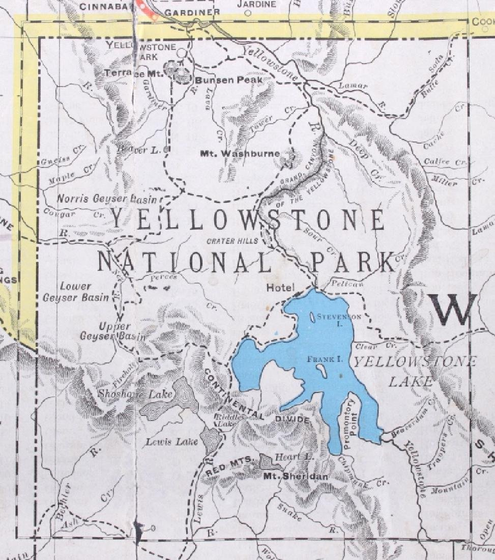 1908 Railroad Commission Map of Montana - 7