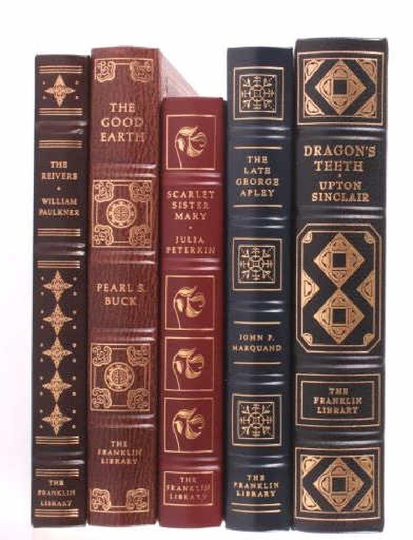 49 Franklin Library Leather Bound Novel Collection - 10