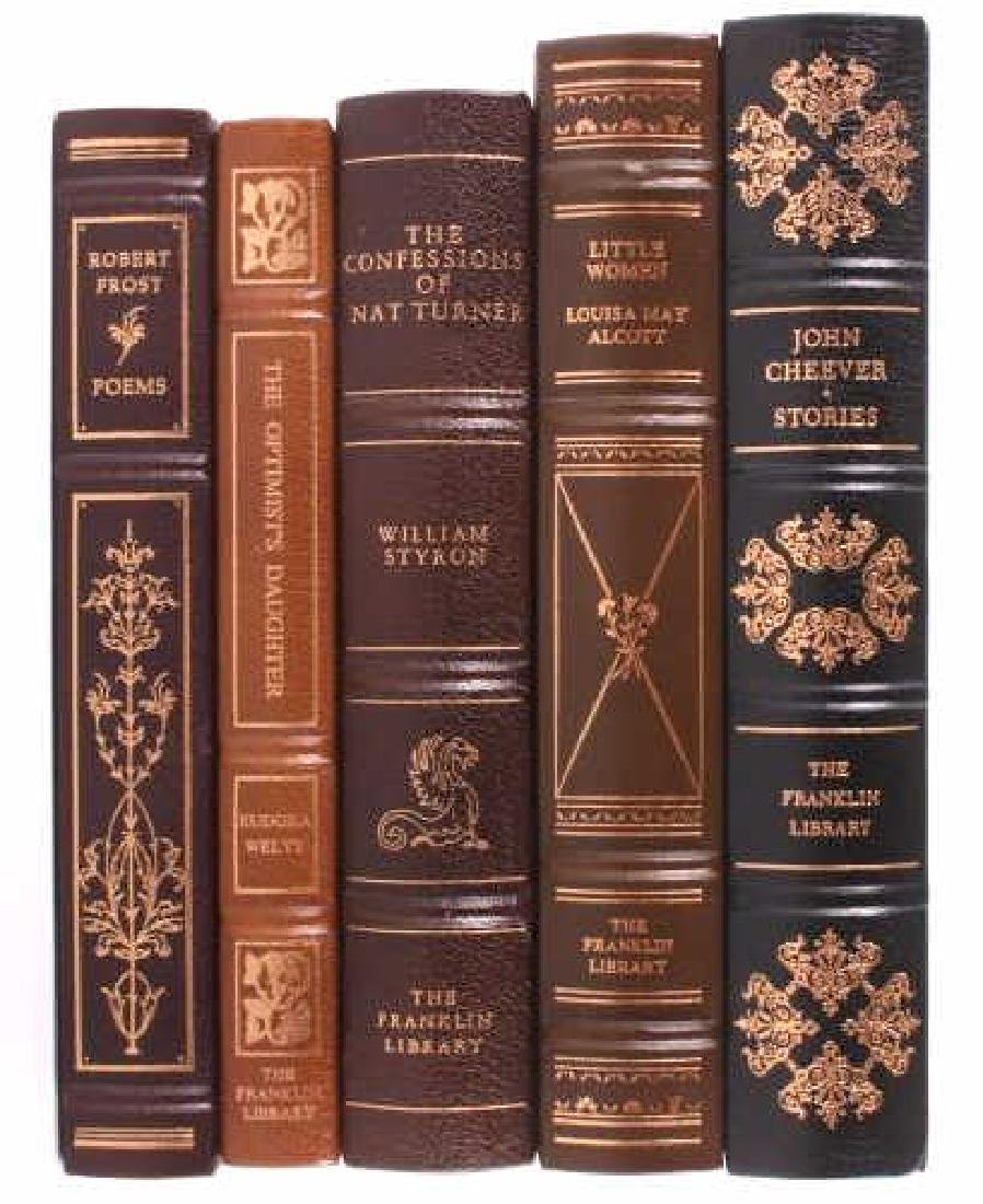 49 Franklin Library Leather Bound Novel Collection - 4