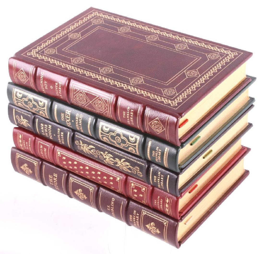 49 Franklin Library Leather Bound Novel Collection - 5
