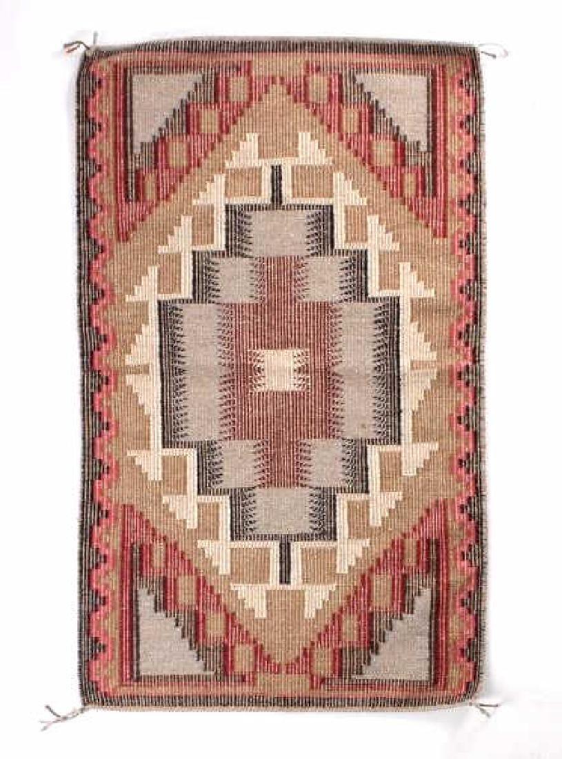 Navajo Ganado Wool Hand Woven Rug