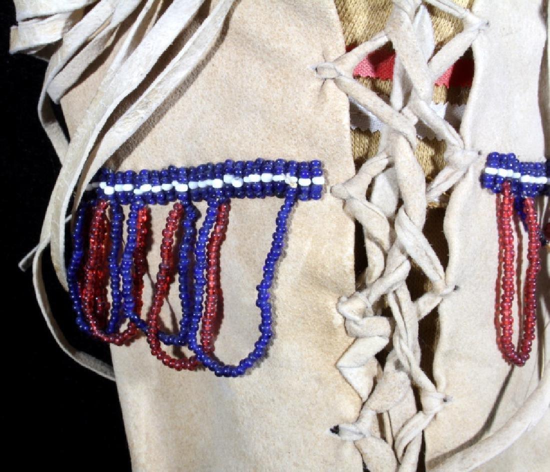 Paiute Beaded Doll Child's Papoose c. 1900-1930 - 10