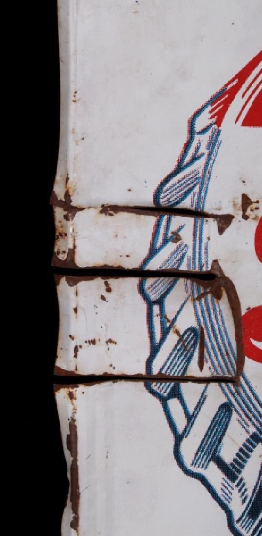 1950's Vintage Drink Pepsi-Cola Advertising Sign - 6