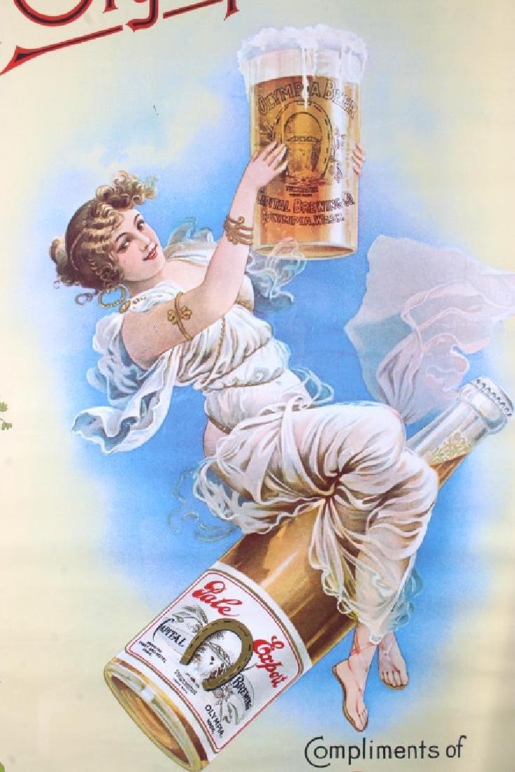 Vintage Olympia Beer Advertising Posters c. 1970's - 10