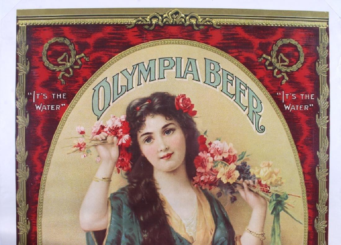 Vintage Olympia Beer Advertising Posters c. 1970's - 3