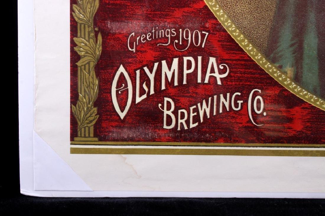 Vintage Olympia Beer Advertising Posters c. 1970's - 4