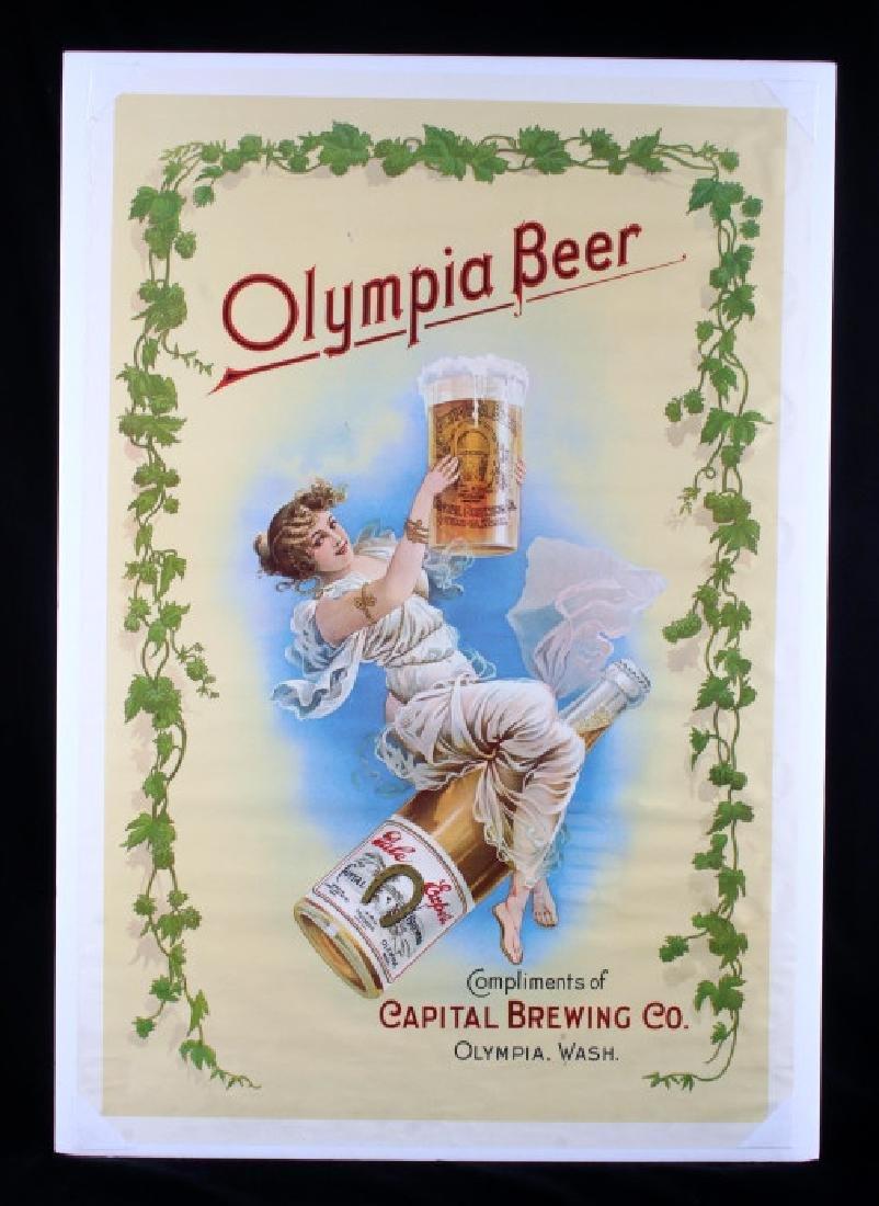 Vintage Olympia Beer Advertising Posters c. 1970's - 7