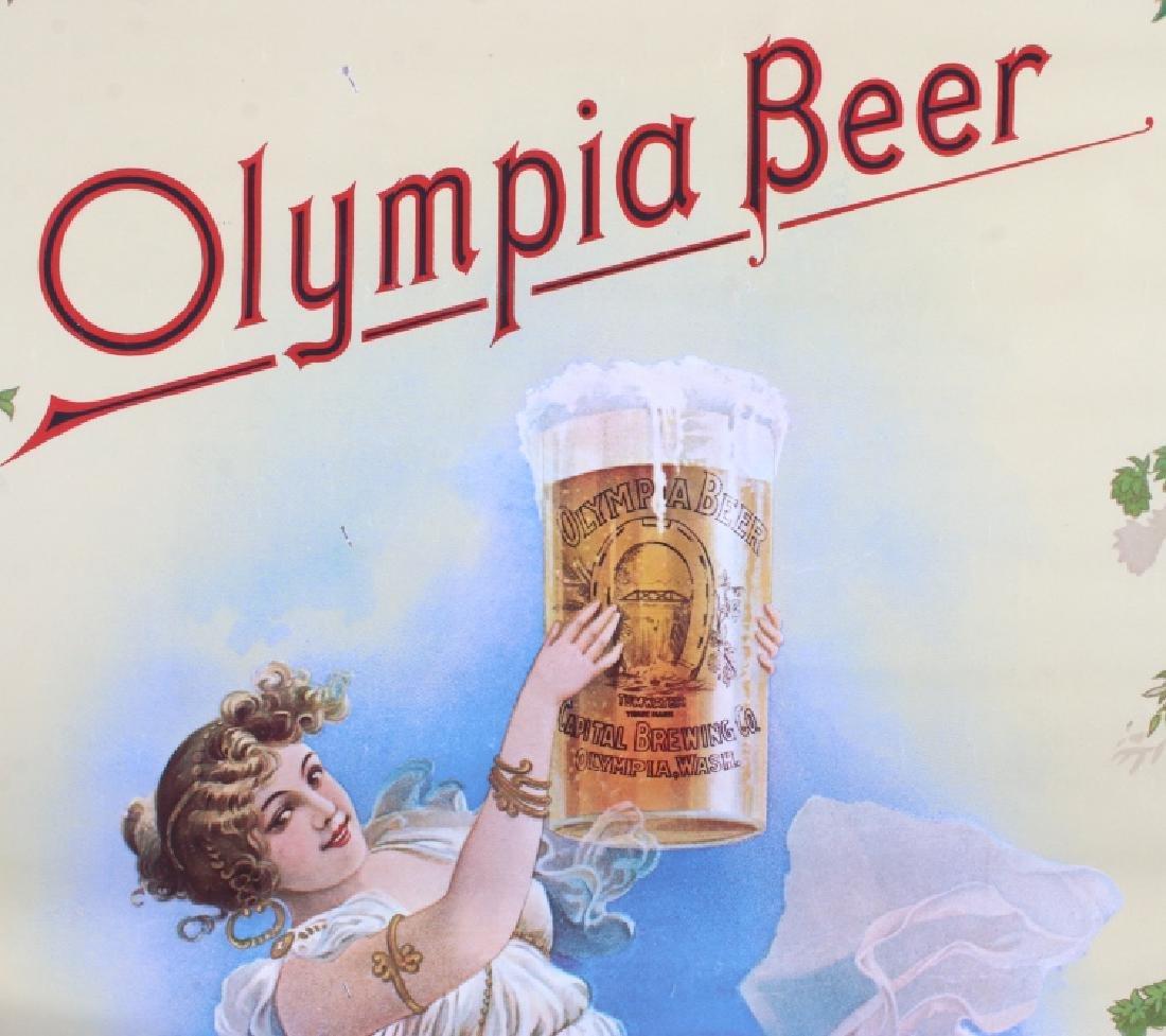 Vintage Olympia Beer Advertising Posters c. 1970's - 8