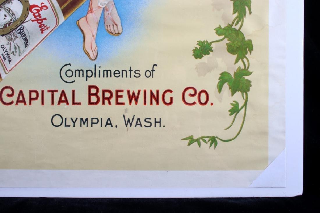 Vintage Olympia Beer Advertising Posters c. 1970's - 9