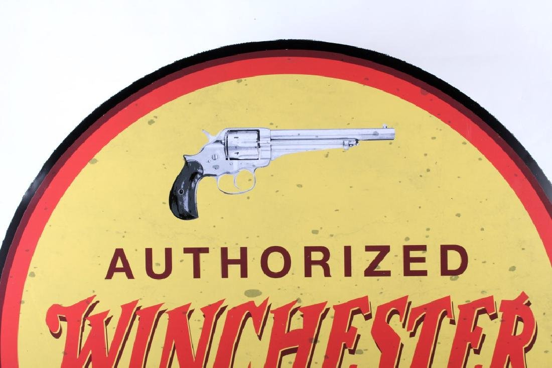 Authorized Winchester Dealer Advertising Sign - 2