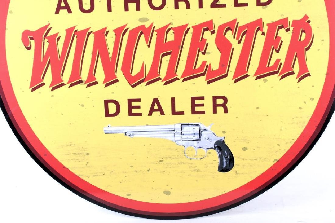 Authorized Winchester Dealer Advertising Sign - 3