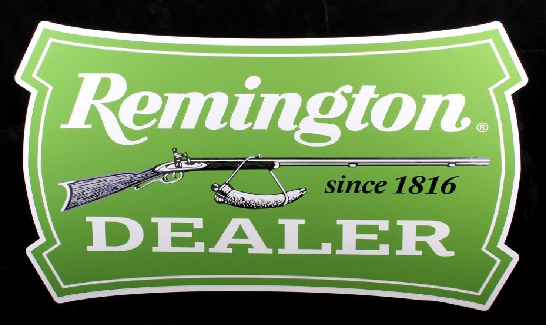 Remington Dealer Advertising Sign - 2
