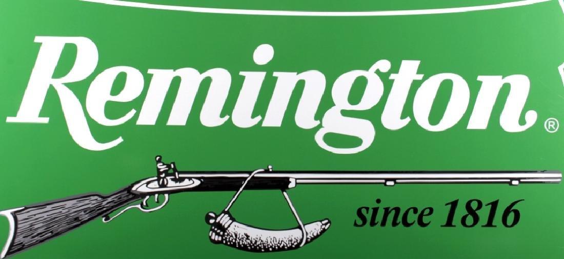 Remington Dealer Advertising Sign - 3