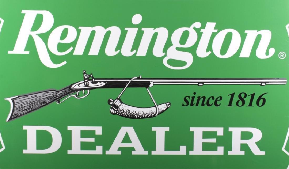 Remington Dealer Advertising Sign - 4