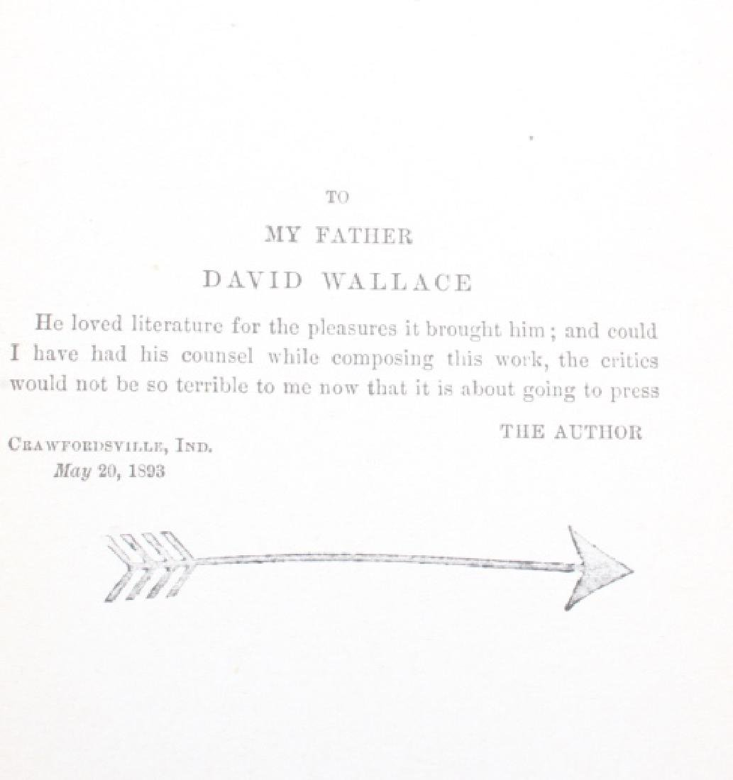 The Prince of India Lew Wallace Vols. I & II 1893 - 5