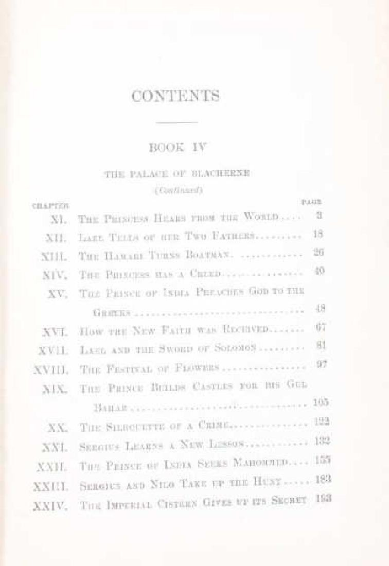 The Prince of India Lew Wallace Vols. I & II 1893 - 8