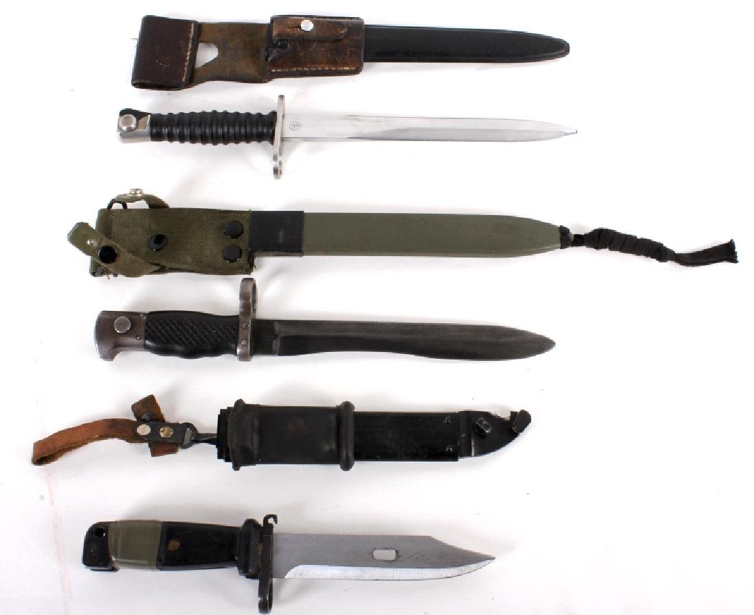 Collection of Three Multi National Bayonets - 2