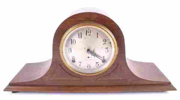 Antique Seth Thomas Staunton Tambour Mantle Clock