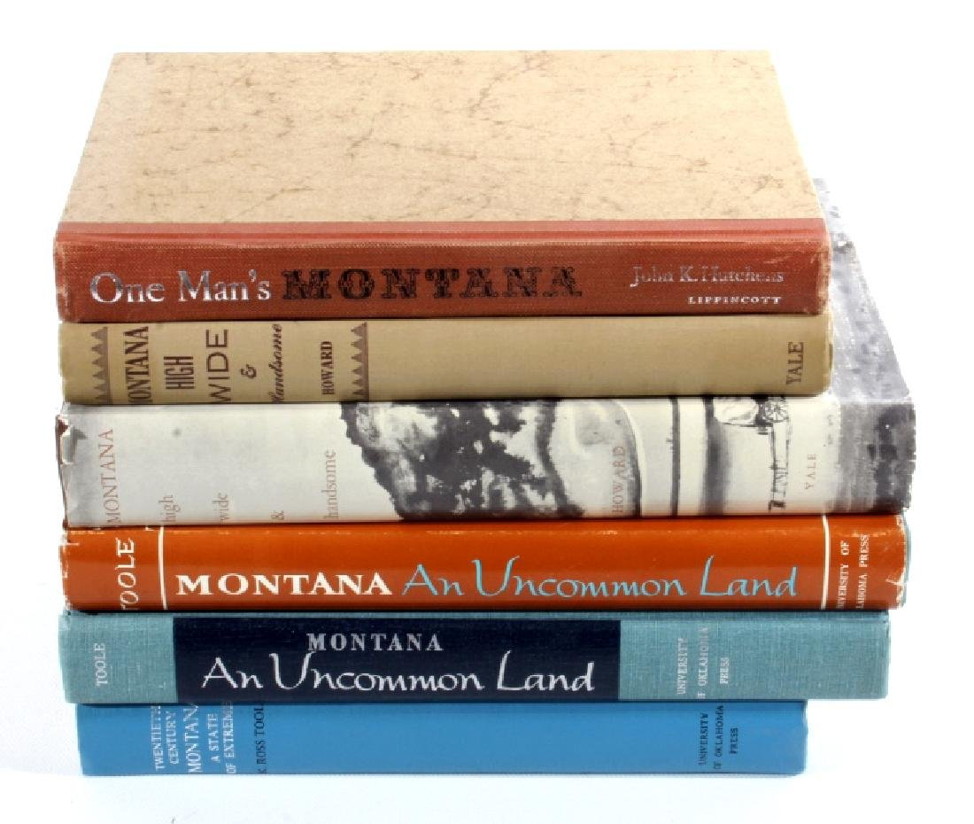 Montana Historical and Scholarly Books Collection