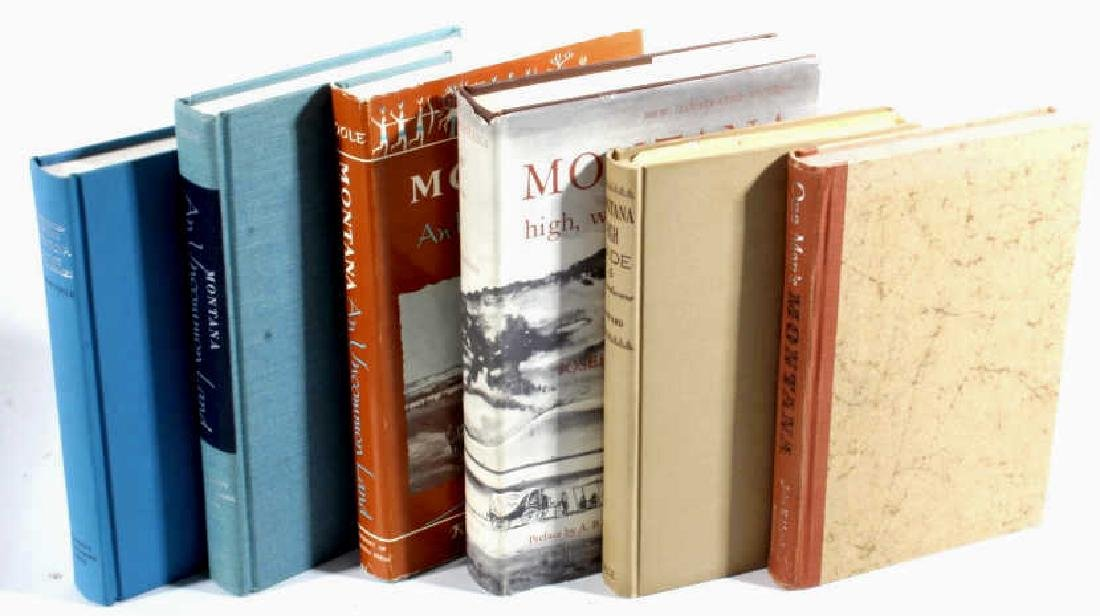 Montana Historical and Scholarly Books Collection - 2