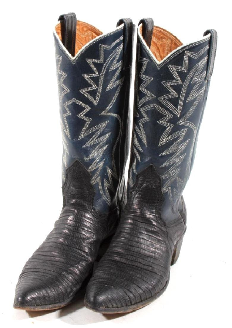 Nocona Leather and Lizard Boots in Box - 2