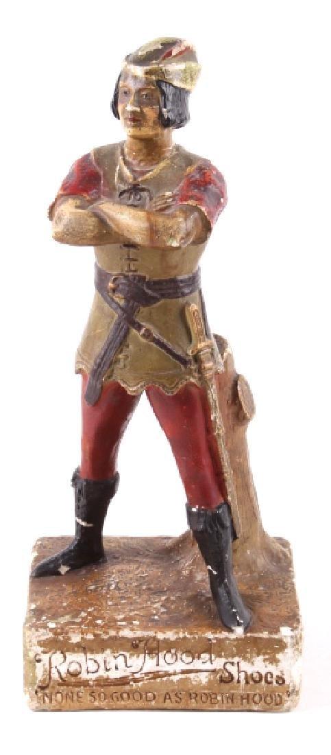 Vintage Robin Hood Shoes Advertising Figure