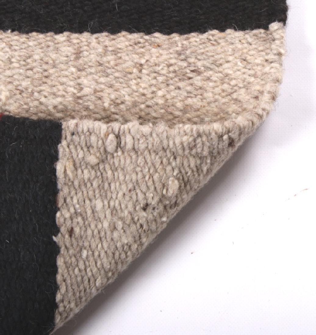 Navajo Native American Pattern Wool Runner Rug - 10