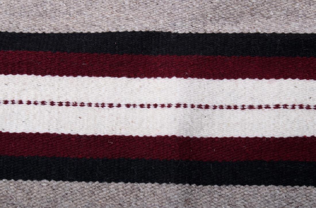 Navajo Native American Pattern Wool Runner Rug - 6