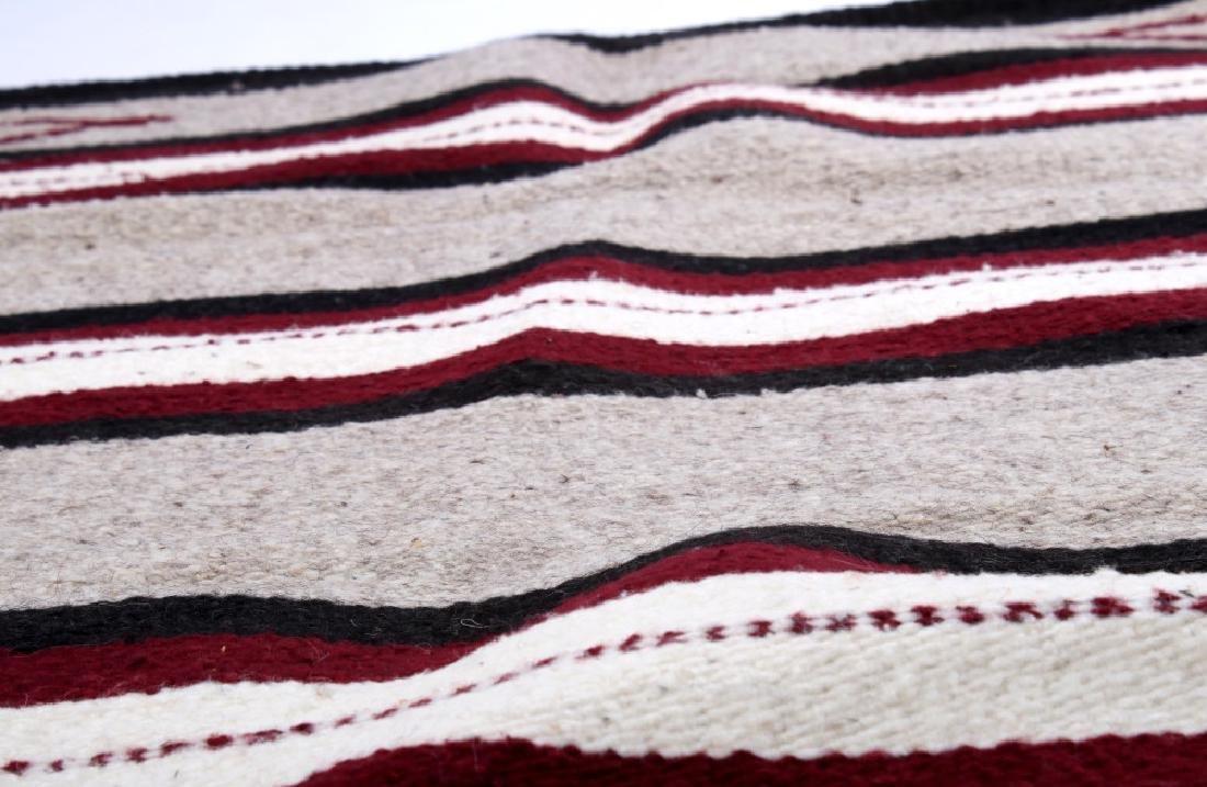 Navajo Native American Pattern Wool Runner Rug - 7