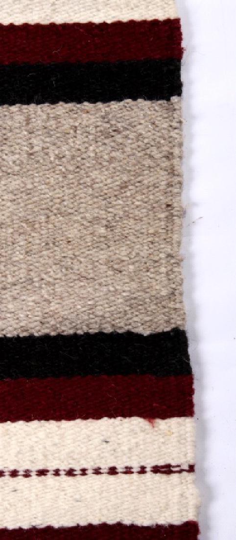 Navajo Native American Pattern Wool Runner Rug - 8