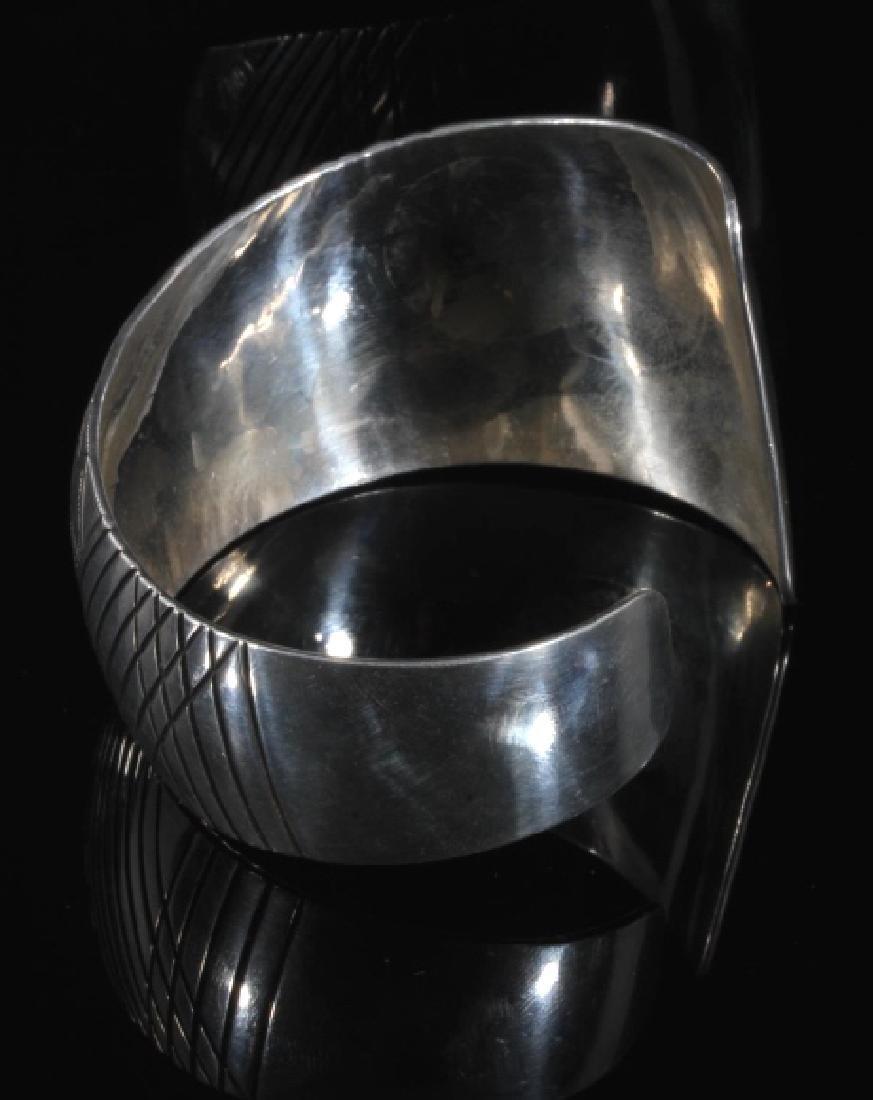 Western Plains Sterling Silver Cuff - 3