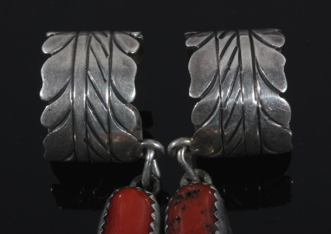 Signed Navajo Sterling Silver Ear Cuff Collection - 5