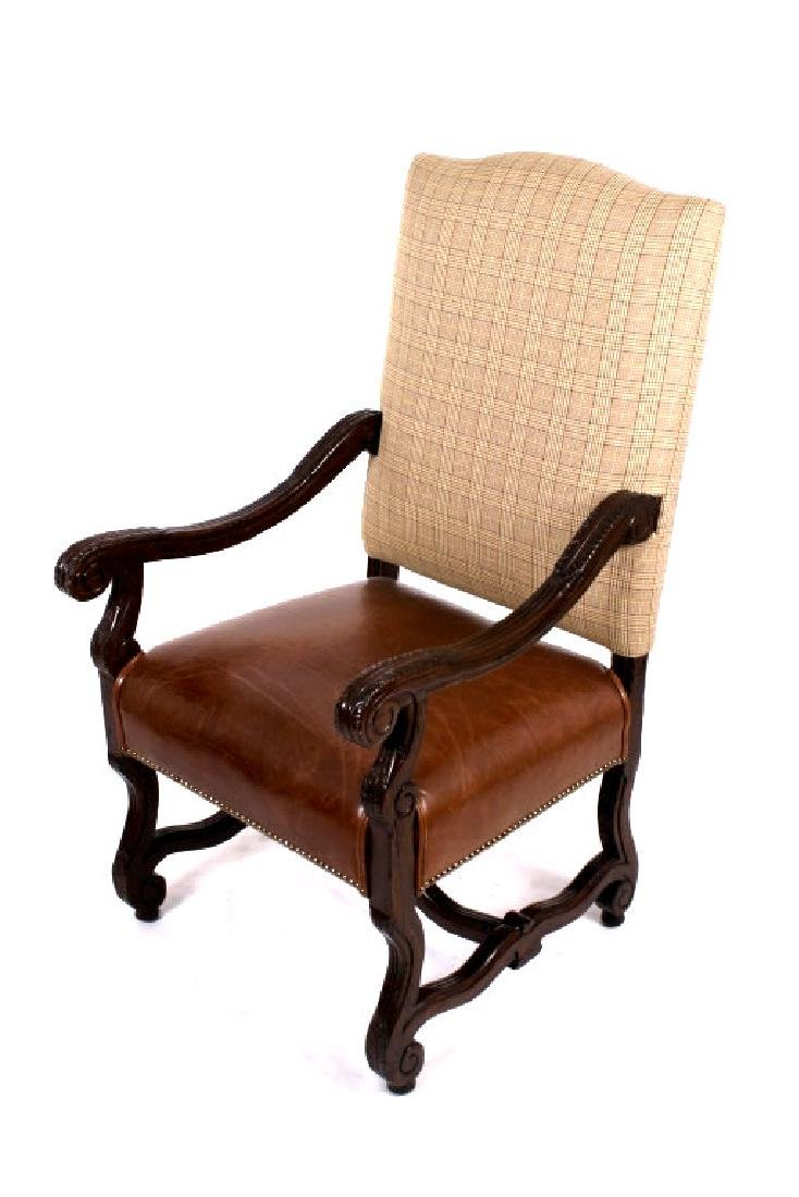 Ralph Lauren Leather Dining Chair Set (8) - 6