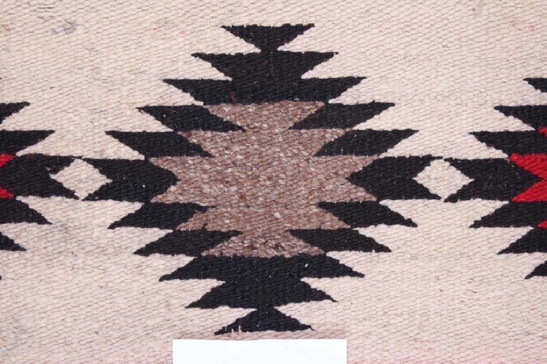 Navajo Native American Small Chinle Pattern Rug - 10