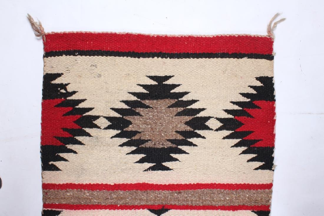 Navajo Native American Small Chinle Pattern Rug - 2