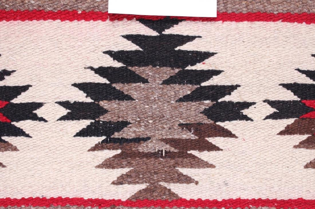 Navajo Native American Small Chinle Pattern Rug - 8