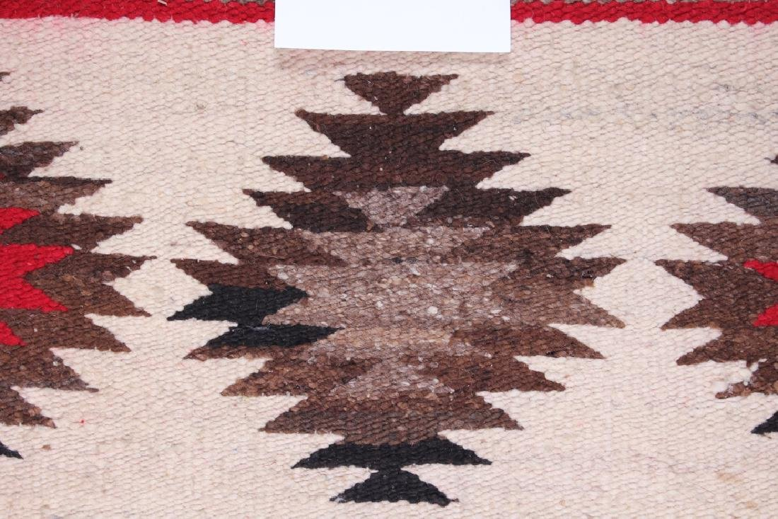 Navajo Native American Small Chinle Pattern Rug - 9