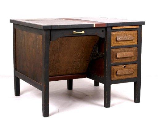 Fine Antique Oak Typewriter Desk Download Free Architecture Designs Embacsunscenecom