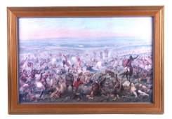 Custers Last Fight Framed Print