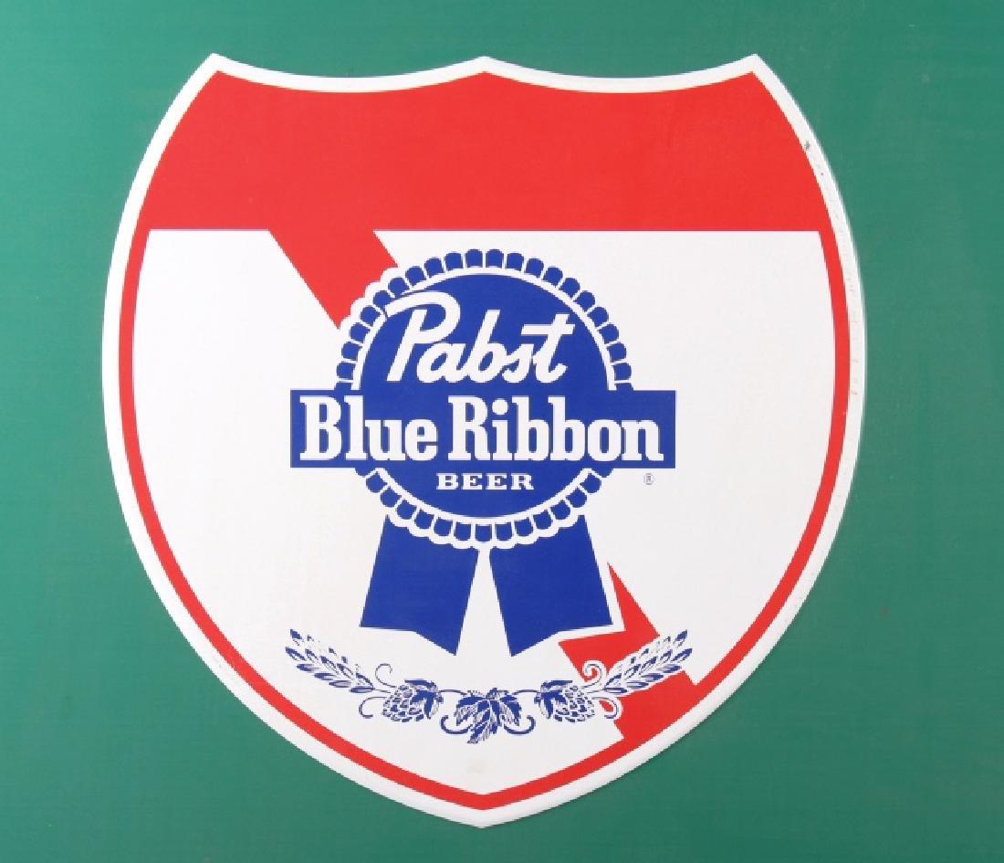 Pabst Blue Ribbon Metal Street Sign - 4
