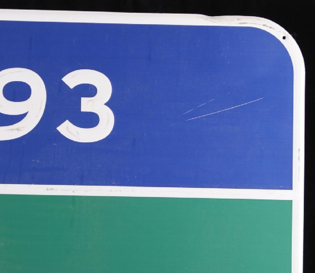 Pabst Blue Ribbon Metal Street Sign - 7