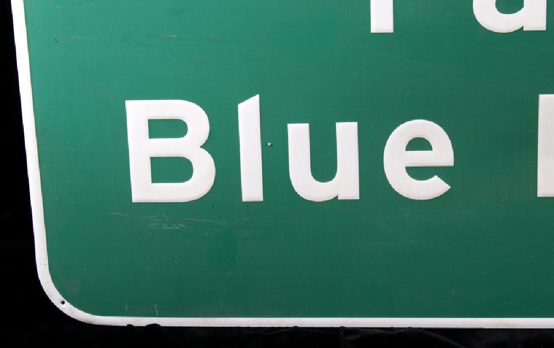 Pabst Blue Ribbon Metal Street Sign - 8