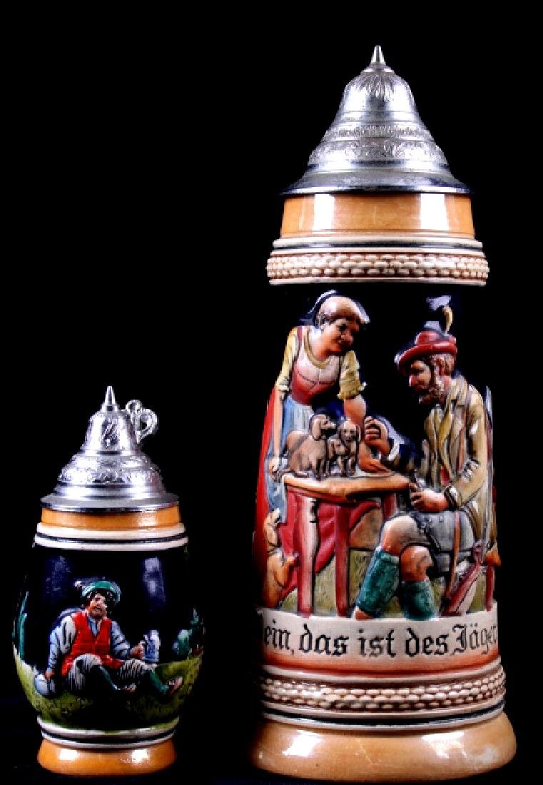 Traditional German Bier Stein Collection - 2