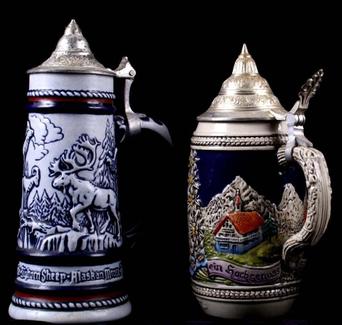 Traditional German Bier Stein Collection - 9